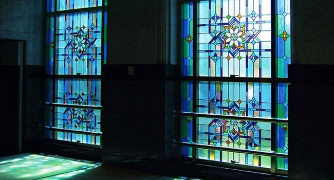 STAINED GLASS MOSQUE BAITUL IKHSAN1, BANK INDONESIA